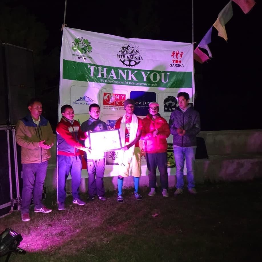 MTB Garsha- High altitude Race in Lahaul Valley